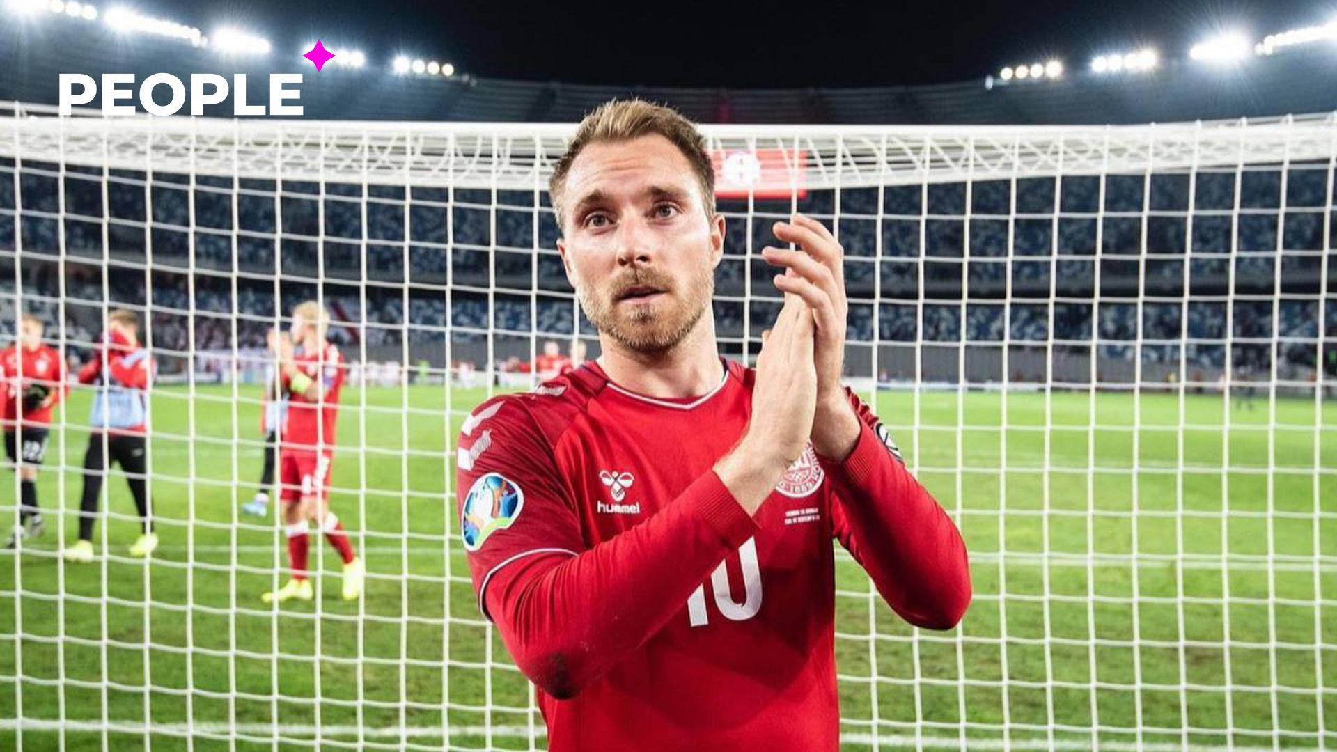 Датский футболист, перенёсший остановку сердца во время матча, опубликовал селфи из больницы — фото