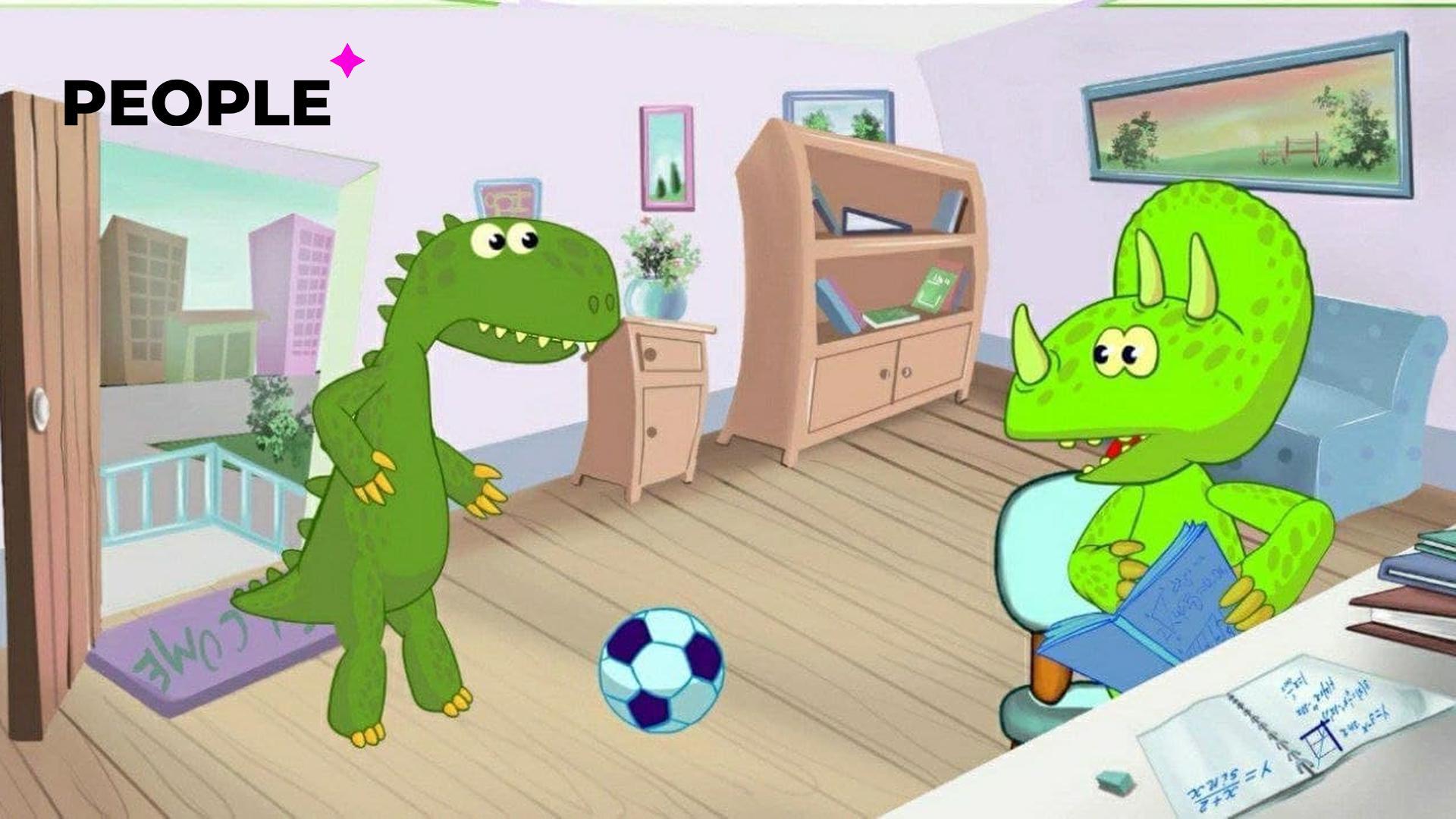 Агентство кинематографии представило первые фото мультфильма «Дино и Завр», который расскажет детям о коррупции