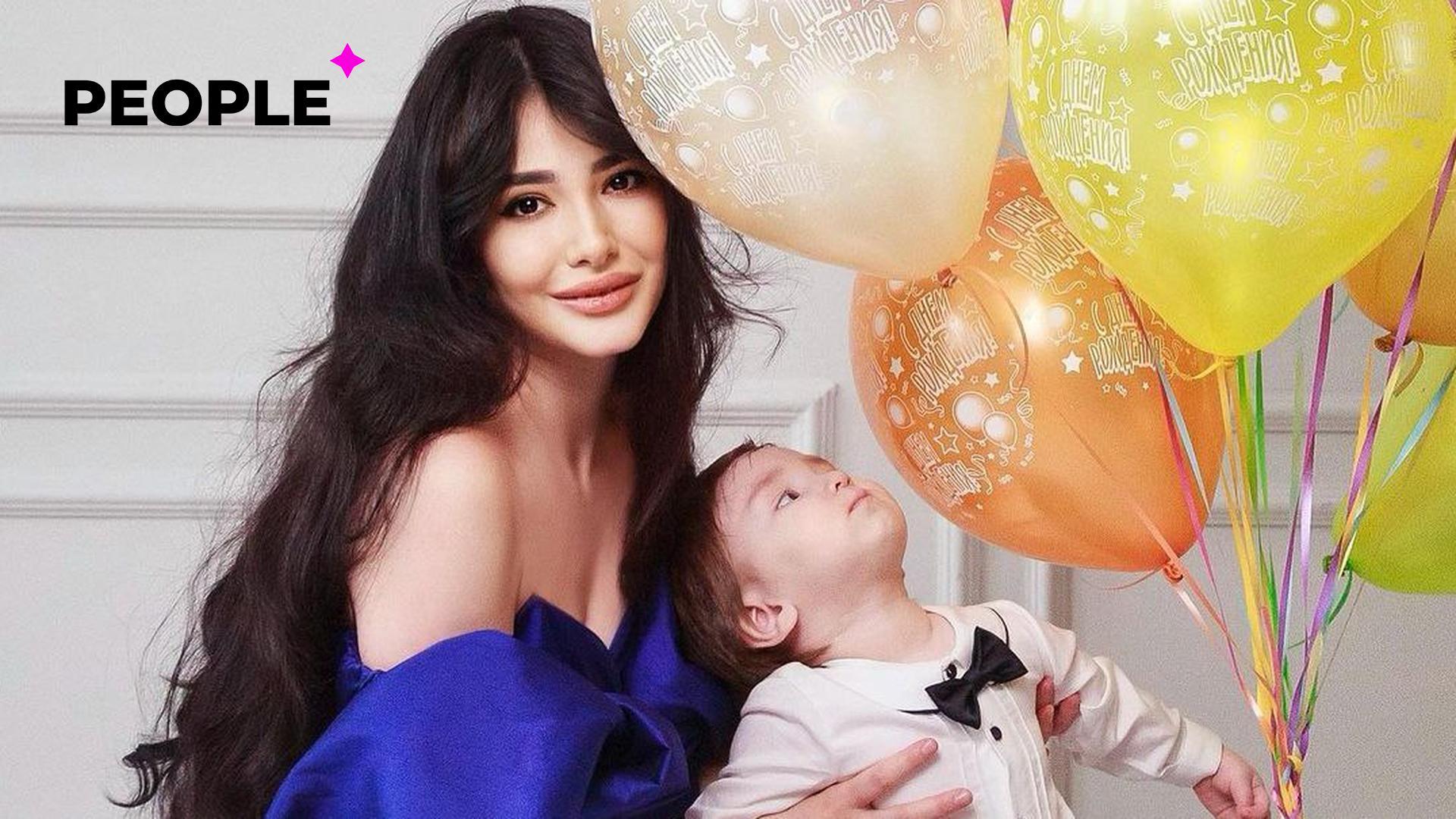 Актриса Зарина Низомиддинова показала первые шаги своего сына