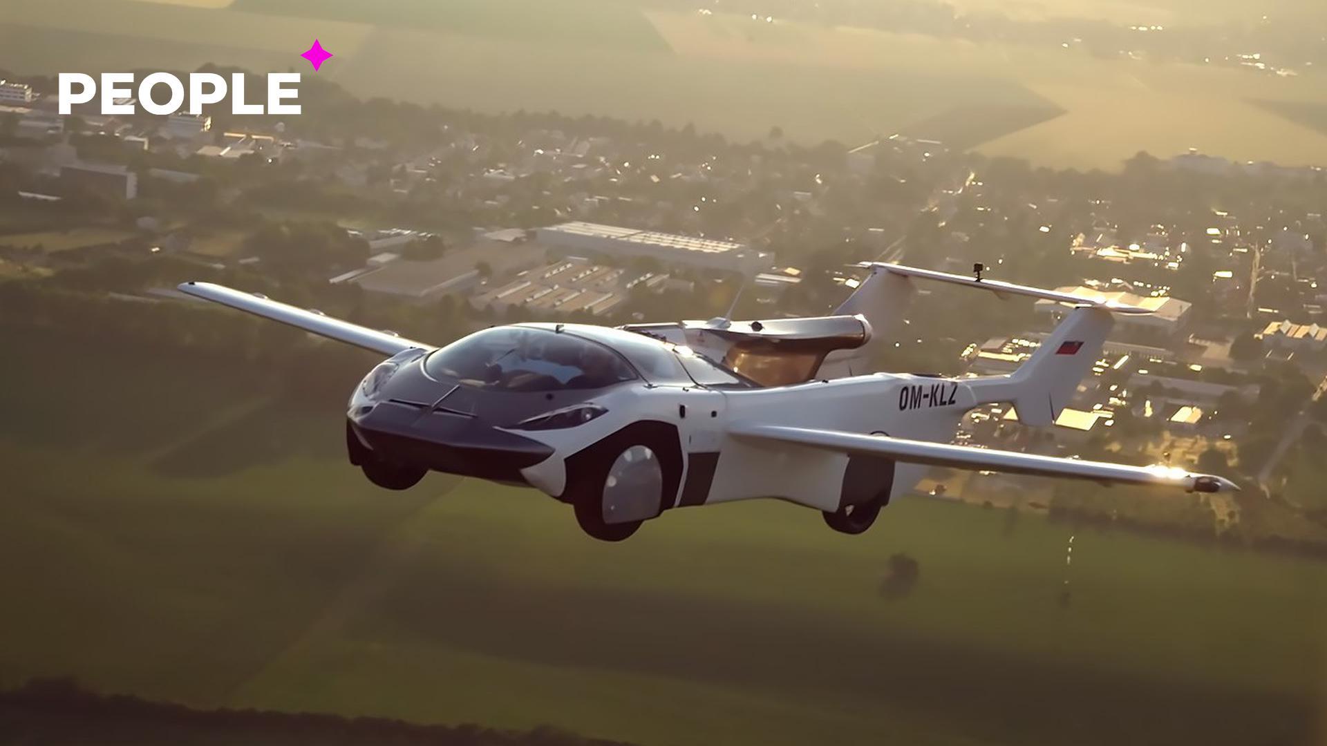 Летающий автомобиль совершил свой первый в истории полет между городами