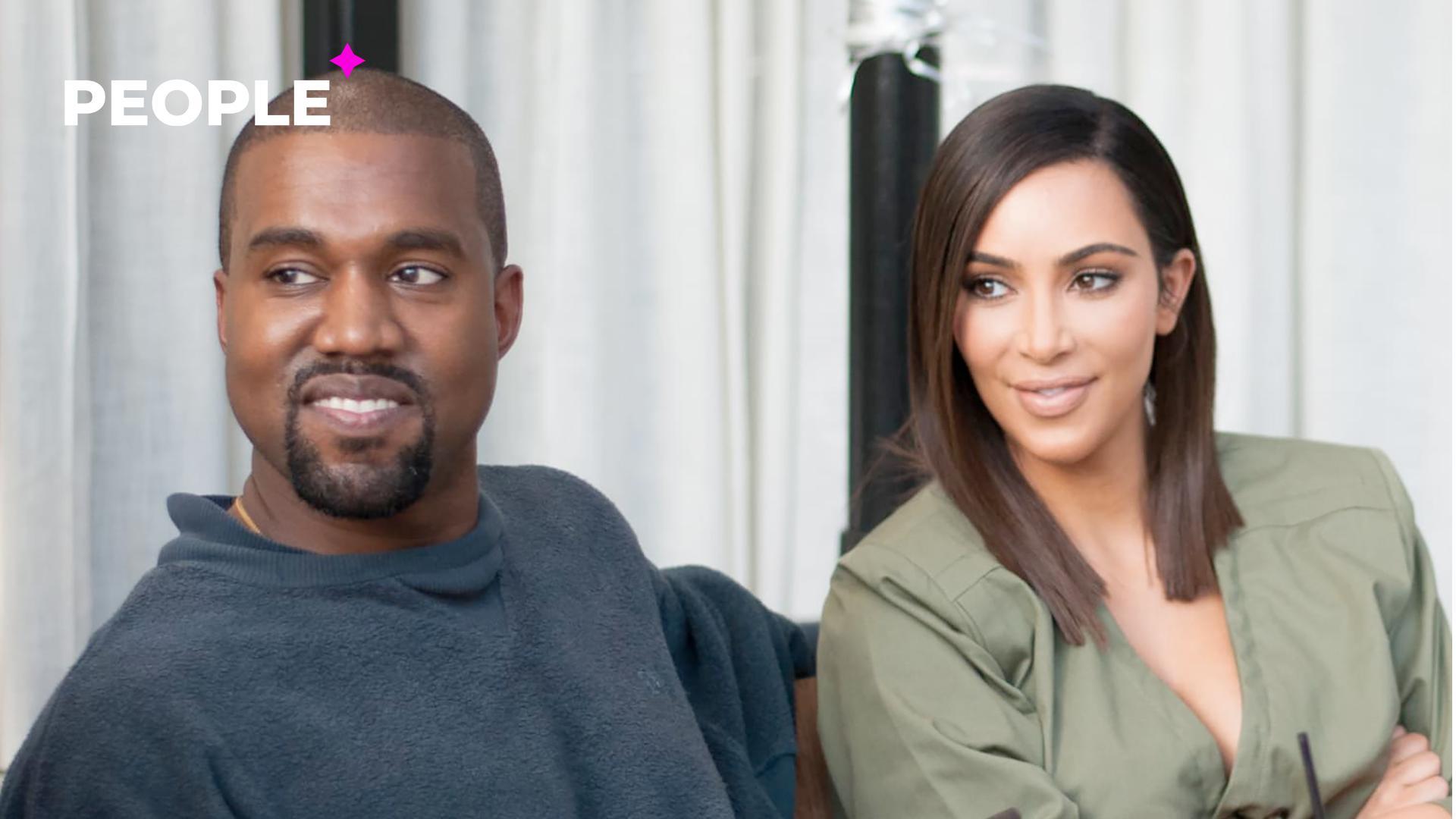 Ким Кардашьян и Канье Уэст вместе провели выходные после слухов о разводе