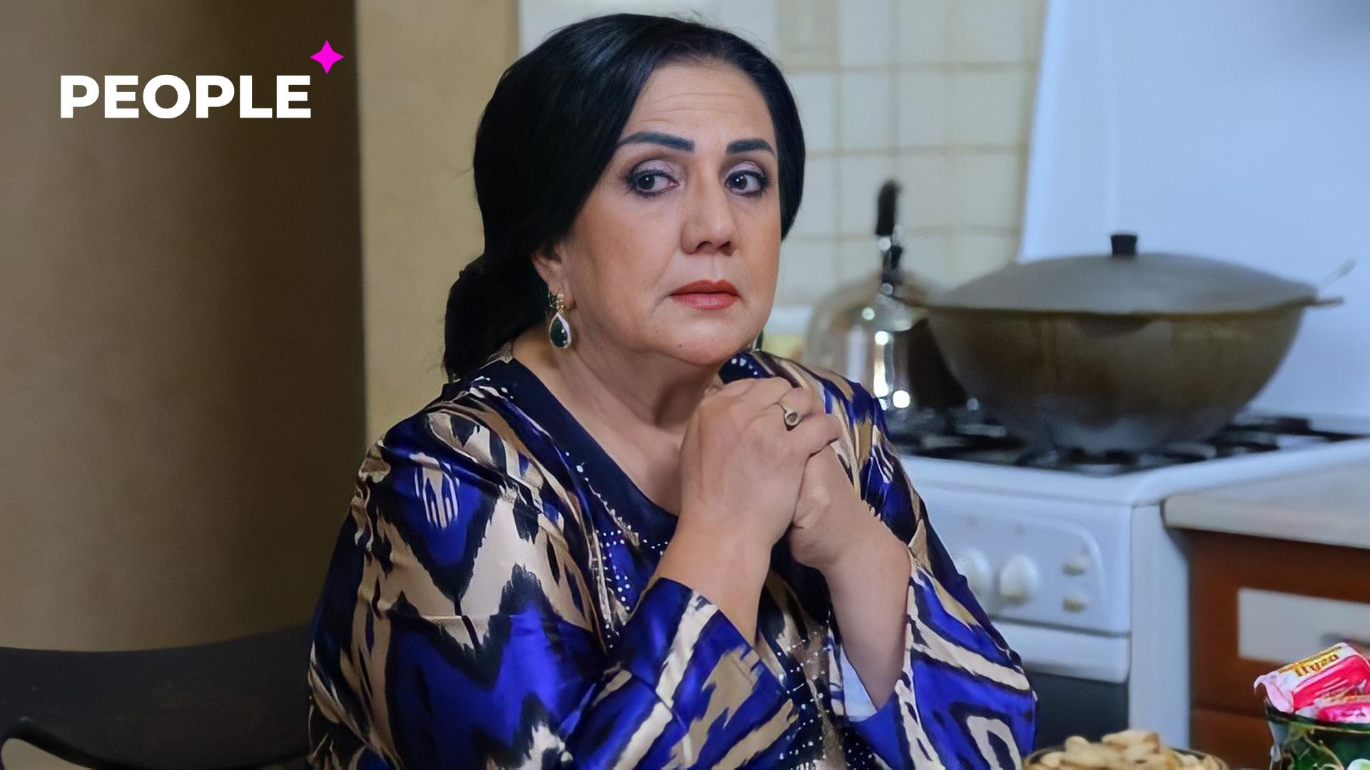 Победившая рак актриса Саида Раметова встретилась с узбекскими артистами