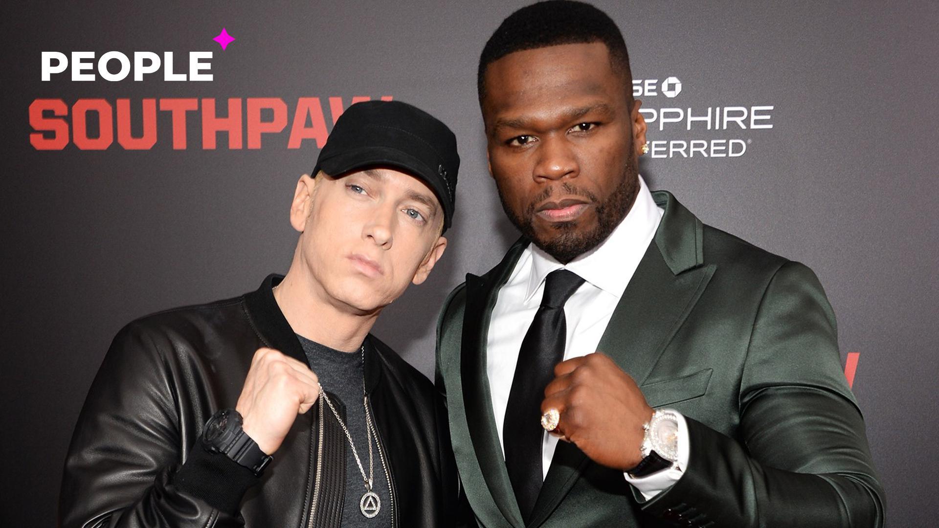 Эминем снимется в сериале о бандитах от рэпера 50 Cent
