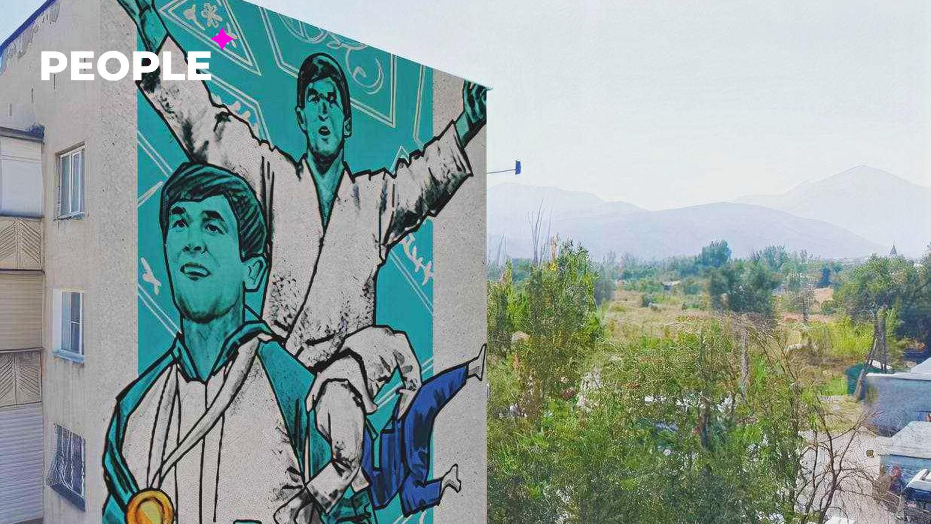 Столичные художники предложили нарисовать портреты олимпийцев Токио-2020 на многоэтажках