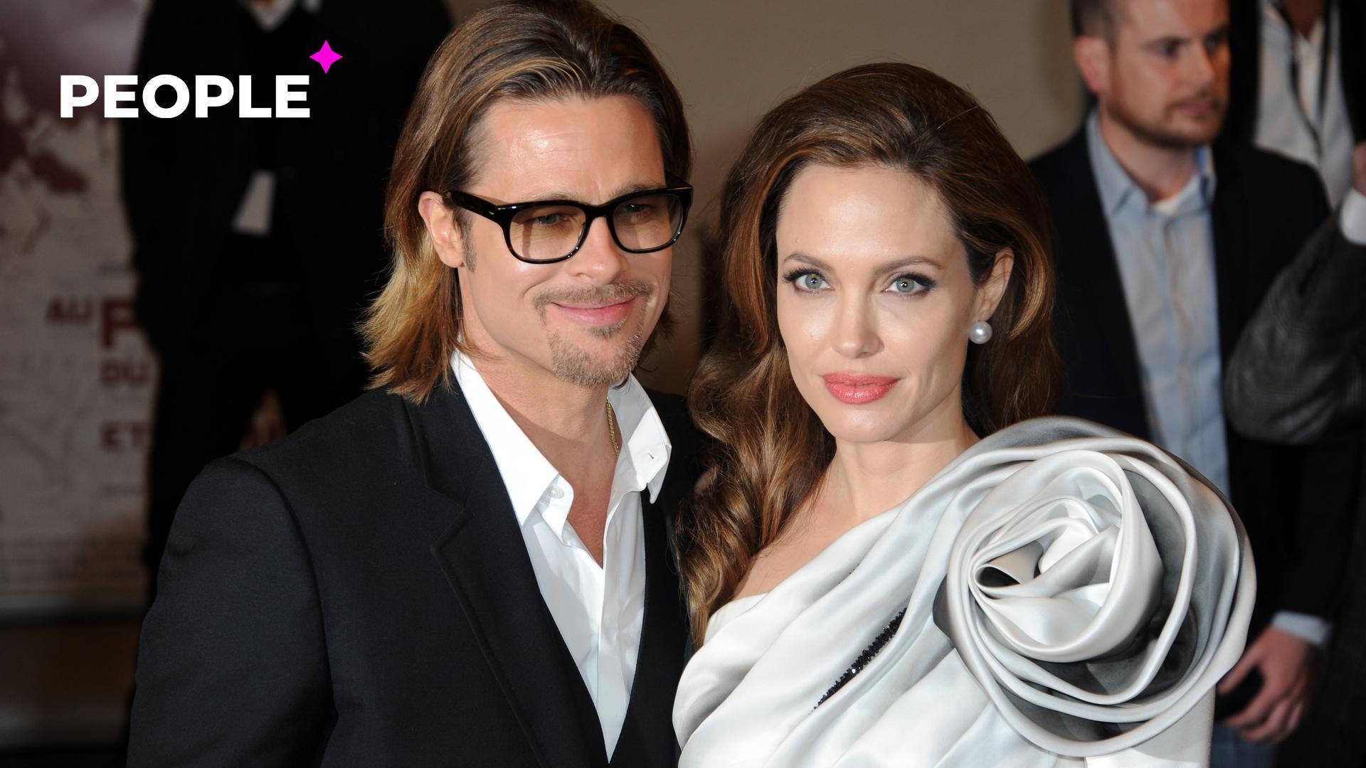 Анджелина Джоли призналась, что в браке с Брэдом Питтом боялась за детей